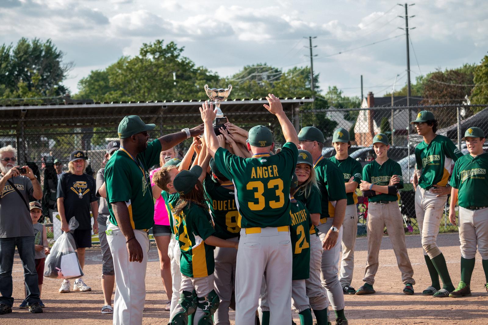 Peewee Windsor Central Little League John Kaschak Memorial Friendship Tournament Forest Glade Baseball